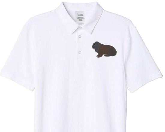 Polo-Shirt bestickt mit Deutscher Widder blaugrau P2029 anthrazit 3XL