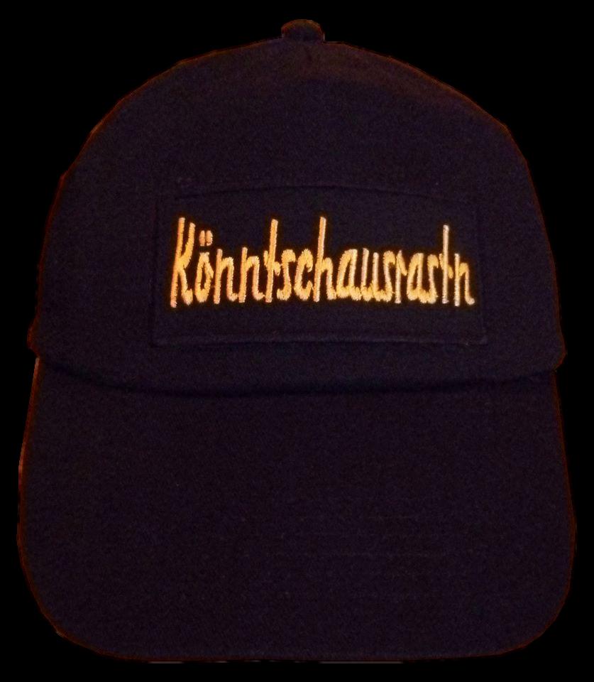 Basecap Cap bestickt ...Könntschausrastn... in schwarz  (756-2)